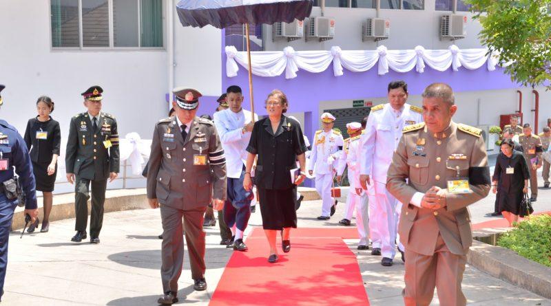 """สมเด็จพระเทพรัตนราชสุดาฯ สยามบรมราชกุมารี เสด็จพระราชดำเนินทรงเปิด """"อาคารเฉลิมพระเกียรติ"""""""